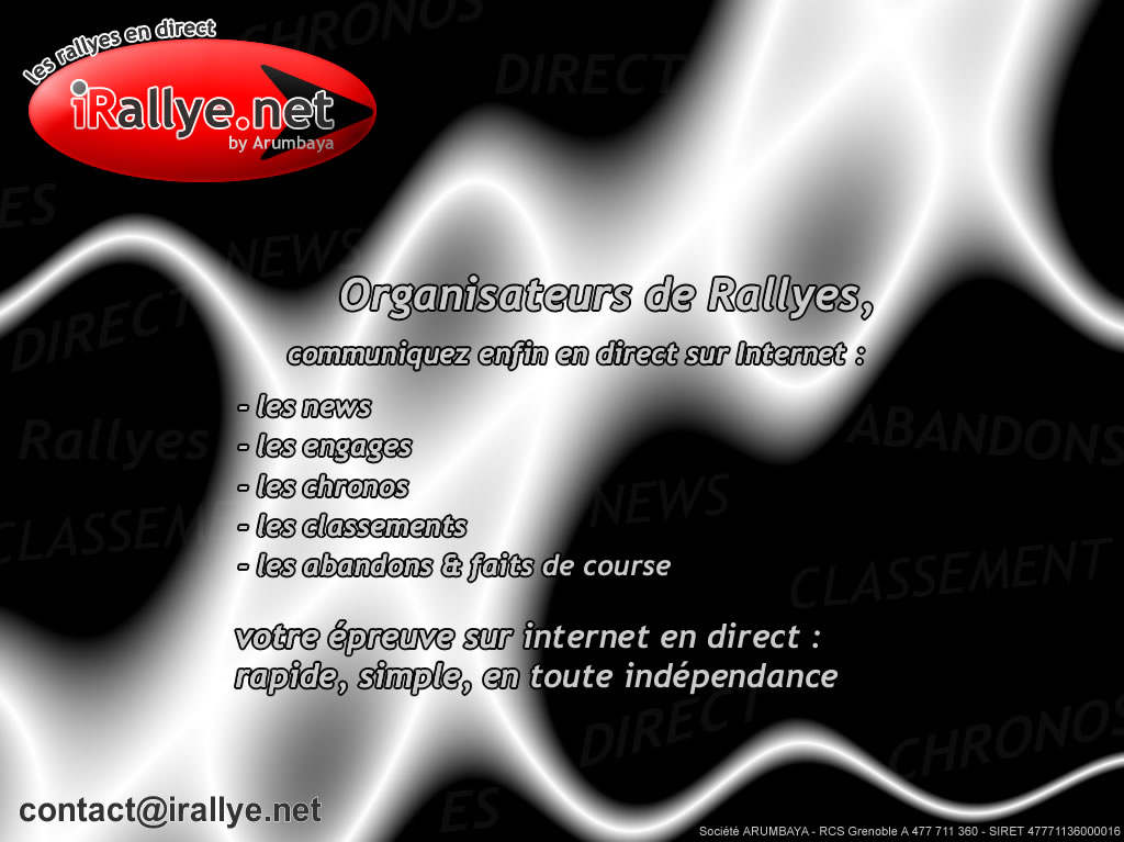 iRallye.net - les Rallye en Direct